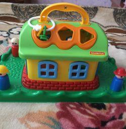 Noua casă fabuloasă pe gazon