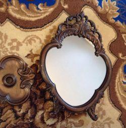 coș de fum / oglindă de masă