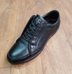 Deri spor ayakkabı 😎🔥🔥