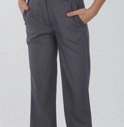 Pantaloni uniforme școlare paralele p 146