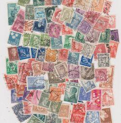 100 старих марок Європи