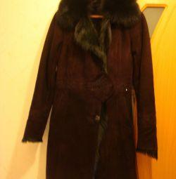 Sheepskin coat natural Turkey NEW