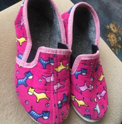 Papuci de 18,5 cm
