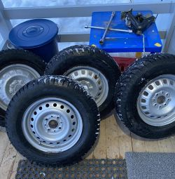 Winter wheels r13 for vaz