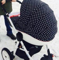 Παιδικό καροτσάκι DPG Glamour 3 σε 1