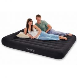 Inflatable double mattress Intex 64143