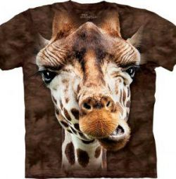 T-shirt Η ορεινή καμηλοπάρδαλη
