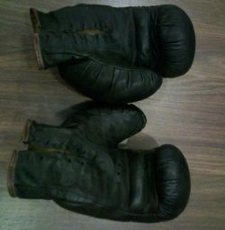boxing gloves time of the USSR