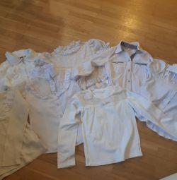 Bluze de școală pe pachet