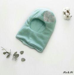 🔹НОВАЯ детская шапка шлем
