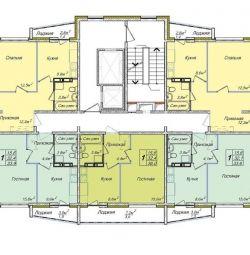 Квартира, 3 кімнати, 72 м²