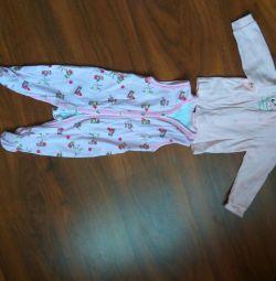 Farklı bebek giysileri