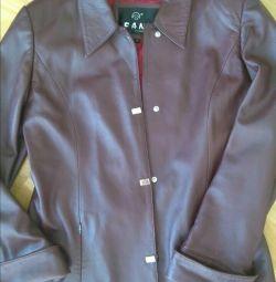 Куртка женская кожаная,разм 46-48