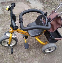 Cărucior pentru biciclete