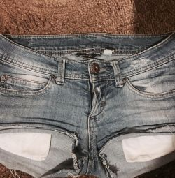 Shorts Bershka Denim