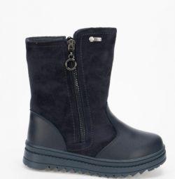 Χειμώνας μπότες ζέβρα νέο
