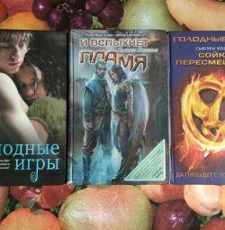 Jocurile Foamei, trei cărți.