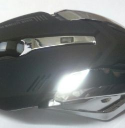 Wireless mouse with recharging