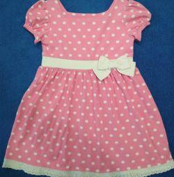 Φόρεμα πλεκτά (116-122 cm)