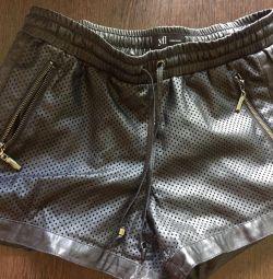 Shorts reserverd leatherette