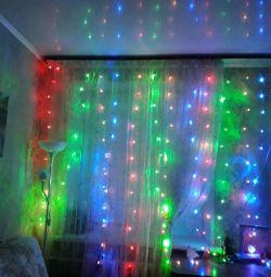 Garland curtains
