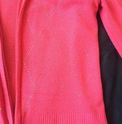Μπλούζα με μέγεθος 46-50 φερμουάρ