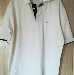 Tricou Alb Polo, R-48 (50)