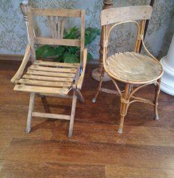 Sandalyeler klasik çocuk