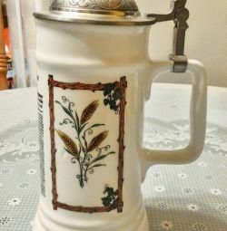 Collectible Ceramic Beer Mug