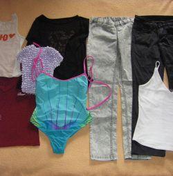 одежда на 10-15 лет 140-160см