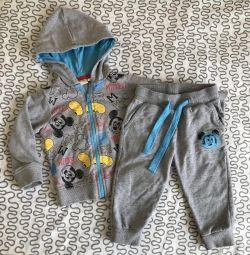 Costume pants and sweatshirt