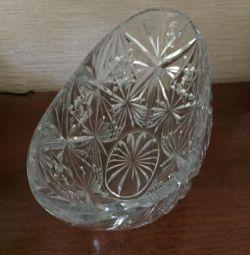 Νέο βάζο κρυστάλλου βάζων