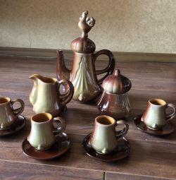 New coffee set