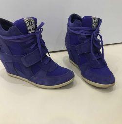 Suede sneakers ASH