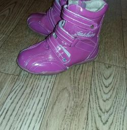 Boots fall-spring firm fairy tale without defects 25 r