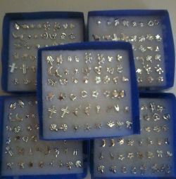 Nonallergic earrings 24pcs/box
