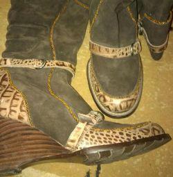 чоботи осінні