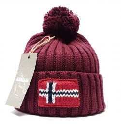 Hat Napapijri (bordo) s19