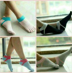 Κάλτσες ενηλίκων σπορ 5 δάχτυλα