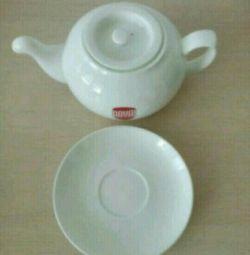 Porțelan ceainic