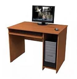 Computer table 680x760x1000 beech New