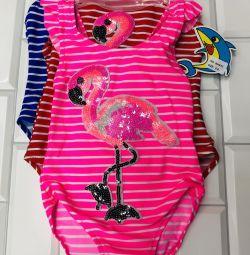 Φουσκωτό μαγιό Flamingo