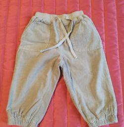 pamuk astarlı Pantolon