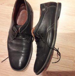 Παπούτσια σελ. 41 φυσικό δέρμα