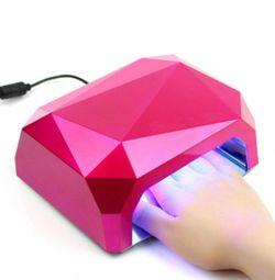 LED lamp for any gel polish (36 W)