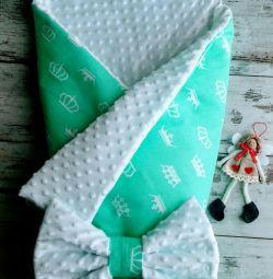 Конверт-одеяло на выписку 85*90