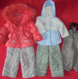 Весна-осінь комбінезон, куртка, штани на 80-86см