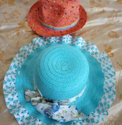 Şapkalar yeni: Elbiseler 4-7 yaş