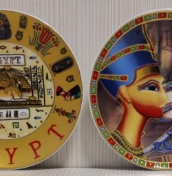 Plate Egypt Porcelain Decorative Wall
