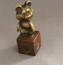Мишка Олимпийский Бронза